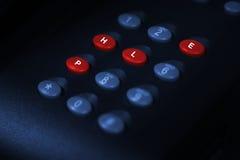 Звонок для помощи Стоковые Изображения RF