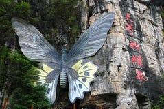 Звуки весны бабочки Стоковое Фото