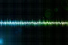 Звуковая война Стоковое Изображение