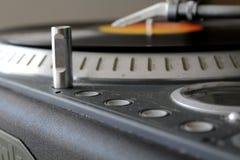 Звуковая система и винил Стоковая Фотография RF