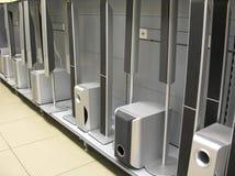 звуковая система магазина Стоковая Фотография RF