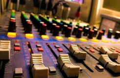 Звуковая система подгоняет Стоковая Фотография