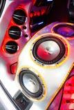 Звуковая система Сони Стоковые Фото