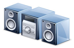 звуковая система Стоковые Изображения RF