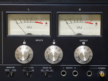 звуковое оборудование старое Стоковые Фото