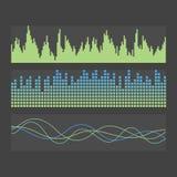 Звуковые войны вектора Стоковое Изображение RF