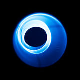 Звуковые войны в видимом голубом цвете Стоковая Фотография RF