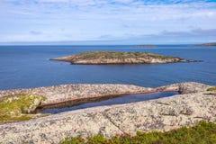 Звукомерное расположение островов Kuzova Стоковое Изображение RF