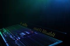 звук в реальном маштабе времени Стоковое Изображение