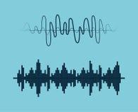 Звук голоса иллюстрация вектора