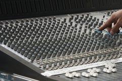 звук доски смешивая Стоковое фото RF