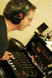 звук инженера стоковая фотография