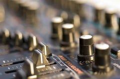 звук модуля крупного плана Стоковые Изображения RF