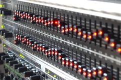 звук оборудования Стоковое фото RF