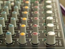 звук смесителя Стоковое Изображение RF