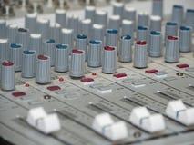звук части смесителя тональнозвуковых кнопок Стоковые Фотографии RF