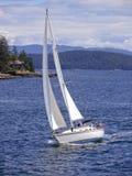 звук sailing puget Стоковые Изображения RF