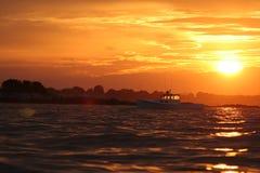 звук salem sailing Стоковое Изображение RF