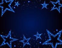 Звёздная предпосылка Стоковое Изображение RF