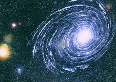 Звёздная текстура предпосылки космического пространства Глубокий космос Стоковые Фотографии RF