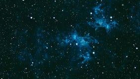 Звёздная текстура предпосылки космического пространства Глубокий космос Стоковая Фотография