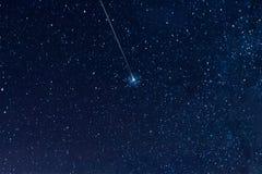 Звёздное небо, элементы этой иллюстрации обеспеченной NASA Стоковая Фотография