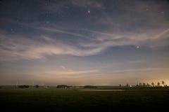 Звёздное небо стоковое изображение rf