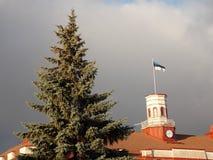 Здание администрации города Стоковые Фото