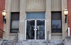 Здание администрации стоковая фотография