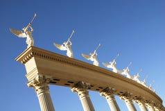 здание ангела римское Стоковые Фотографии RF