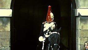 Здание архивного конногвардейского полка историческое в Лондоне видеоматериал