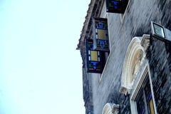 Здание архитектуры китайского стиля старое стоковые изображения rf