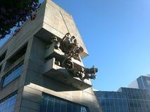 Здание архитектуры Brutalist стоковая фотография rf