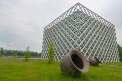 Здание атласа в университете Вагенингена Стоковые Фотографии RF
