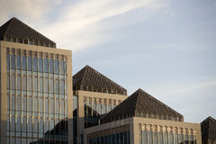 здание банка Стоковые Фотографии RF