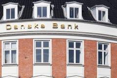 Здание банка Danske в Дании стоковые фото