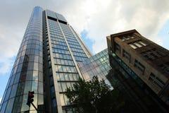 здание банка frankfurt стоковое изображение
