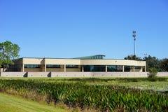 Здание библиотеки стоковые фотографии rf