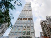 Здание бульвара парка 432 современное, Манхаттан стоковая фотография rf