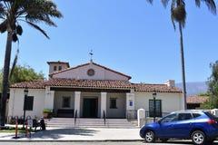 Здание ветеранов ` s Carpinteria мемориальное стоковое изображение