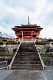Здание ворот виска западное стоковая фотография rf