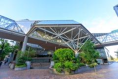 Здание всемирного торгового центра Портленда, пейзажа городского Портленда Стоковое Изображение RF