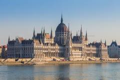 Здание в Будапеште, венгерском парламенте стоковые фото
