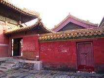Здание в запретном городе Город Пекина, Китай 24th Octob стоковые фотографии rf