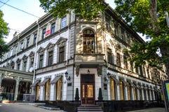 Здание в исторической части города, после восстановления стоковые изображения
