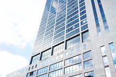 Здание в Катовице, Польша современного офиса корпоративное Стоковые Фотографии RF