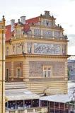 Здание в Праге, чехии стоковое изображение rf