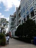Здание в Odaiba стоковое изображение rf