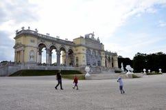 Здание где австрийские императоры отпраздновали Стоковая Фотография