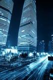 Здание города Шанхая стоковые изображения rf
